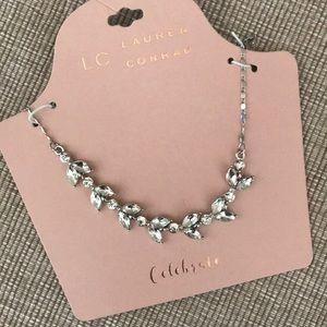New LC Lauren Conrad Celebrate silver tone